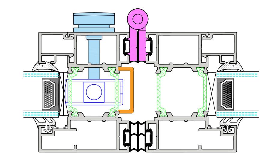 intermediate detail intergated lock
